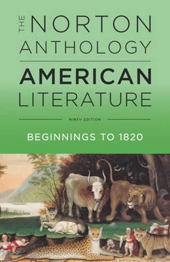 The Norton Anthology of American Literature - Levine