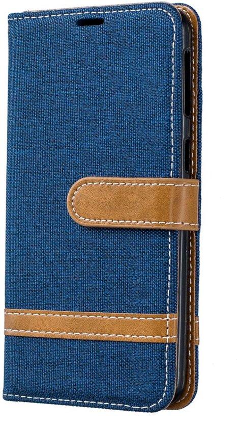 Samsung Galaxy A40 Hoesje - Denim Book Case - Blauw