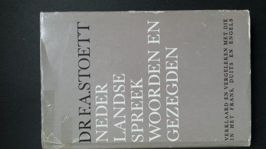 Bolcom Nederlandse Spreekwoorden En Gezegden Fa Stoett