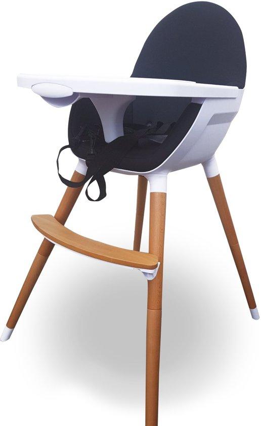 Tiamo Kinderstoel Ervaringen.Bol Com Kinderstoel Hi Chair Zwart Spandex Stof