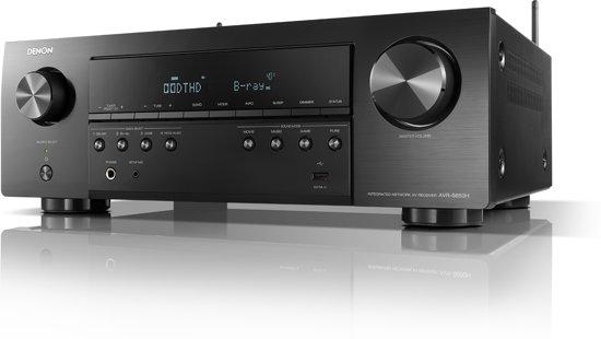 Denon AVR-S650H 5.2-kanaals AV-receiver met WiFi, Bluetooth, multiroom en  4K Ultra HD