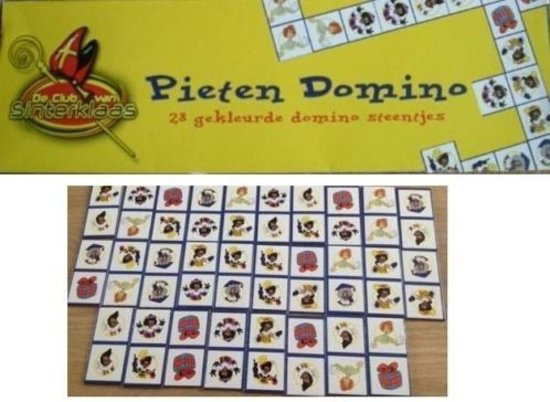 Afbeelding van het spel Pieten Domino - Club van Sinterklaas