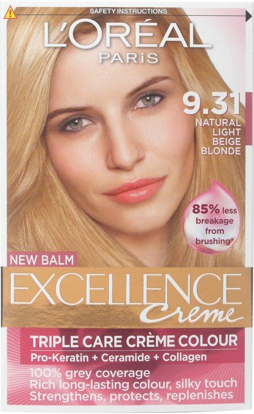 Loreal Haarverf - Excellence Creme nr. 9.31 Beige Blond