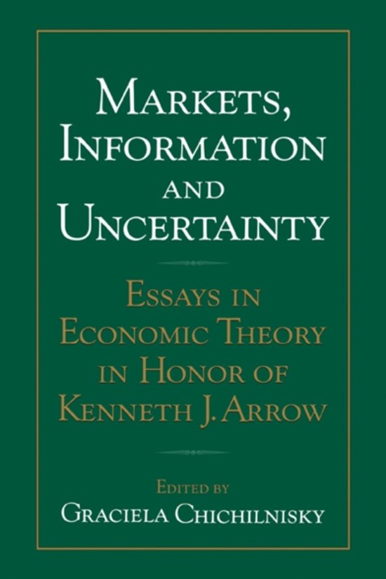 Markets, Information and Uncertainty