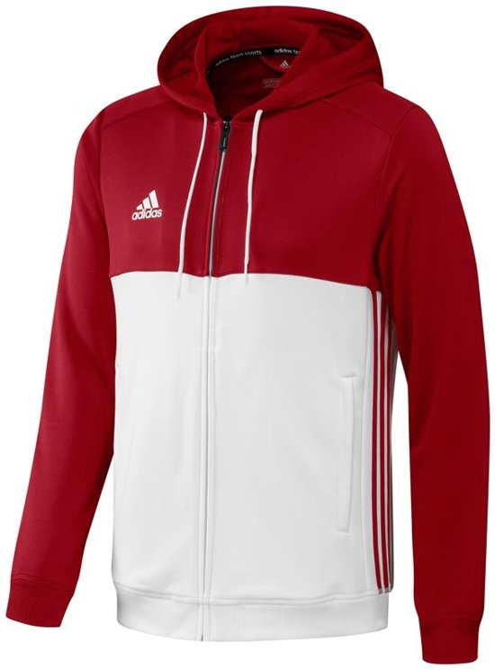 Adidas T16 'Offcourt' Hoody Heren Sweaters rood XS