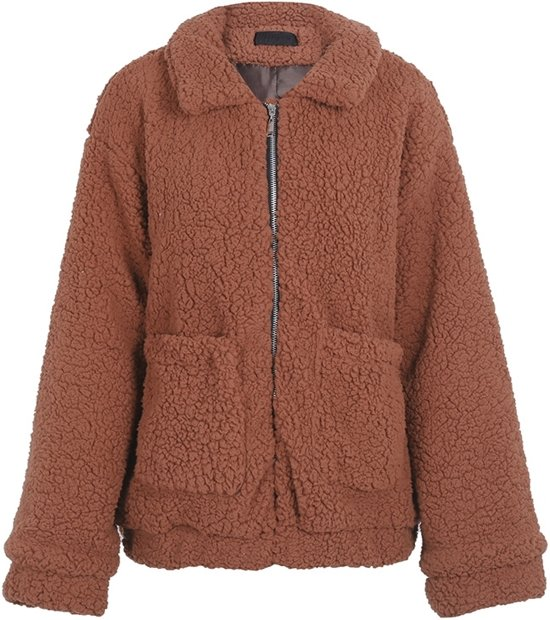 Teddy Jas.Bol Com Superfunk Original Oversized Teddy Jas Warm Winter Herfst Jas