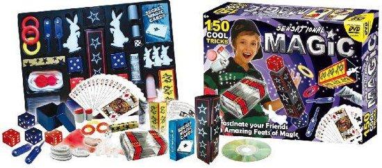Goocheldoos Magic - 150 Trucs - Met DVD