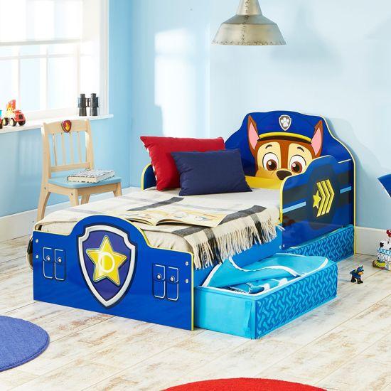 Bed Voor Kind.Bed Kind Paw Patrol 145x77x68 Cm