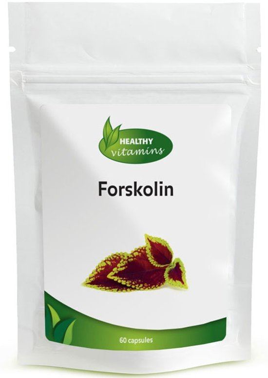 Forskolin capsules - Extra Sterk