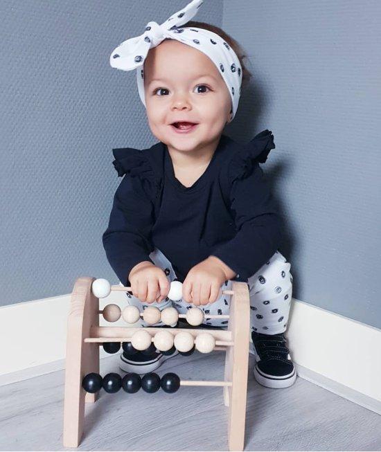Afbeelding van Houten Telraam Tiny - Zwart-wit - Vanaf 1 jaar speelgoed