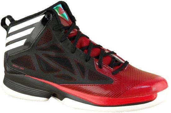new concept fa479 ed1a8 Adidas Crazy Fast G59723, Mannen, Zwart, Basketbalschoenen maat 44 23