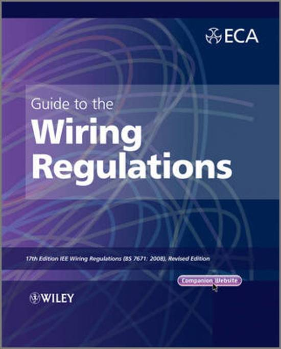 Phenomenal Bol Com Guide To The Iet Wiring Regulations Electrical Wiring Digital Resources Funapmognl