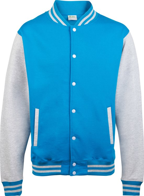 Varsity Blue GreyMaat L JacketSapphire heather Awdis fYb7yg6