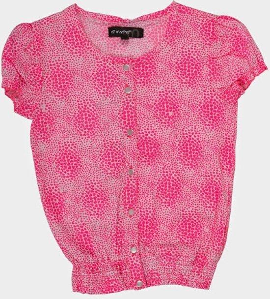 Minymo - meisjes shirt - roze