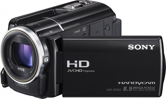 Sony Handycam HDR-XR260VE