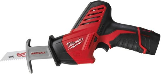 Milwaukee C12 HZ/2 2.0 Ah Compactreciprozaagmachine