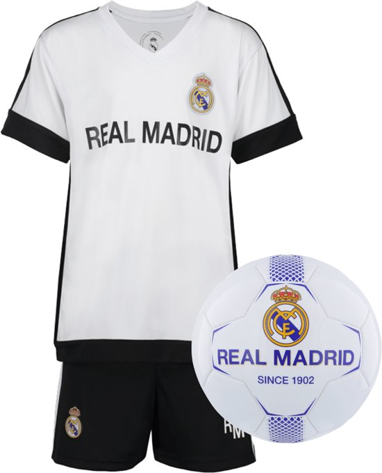 Real Madrid Thuis Tenue + Real Madrid voetbal No1