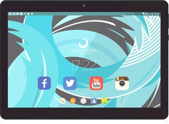 Brigmton BTPC-1019 tablet Allwinner A33 16 GB Zwart