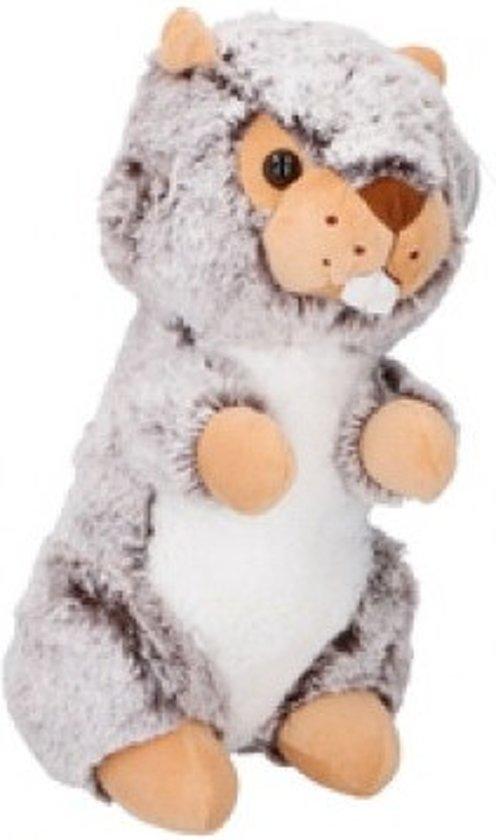 Eddy Toys Knuffel Otter Grijs 27 Cm