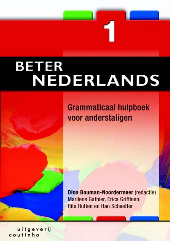 Beter Nederlands 1