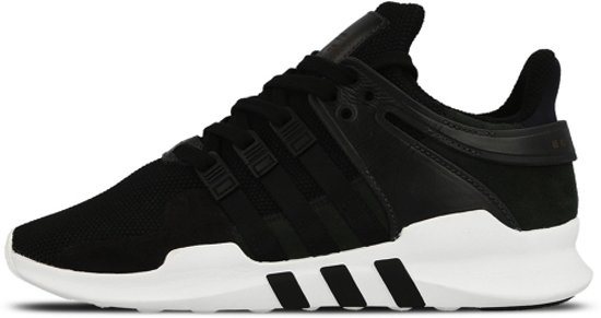 28816f4562a Adidas Equipment Support Adv - Heren Sneakers - Zwart / Wit - BB1295 - Mannen  schoenen