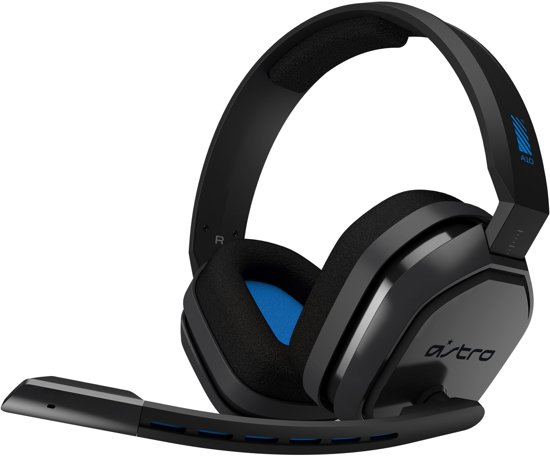 ASTRO A10 - Gaming Headset - Blauw - PS4