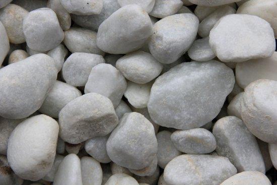 10 stuks! Carrara wit 40-60 mm 20 kg Decorson