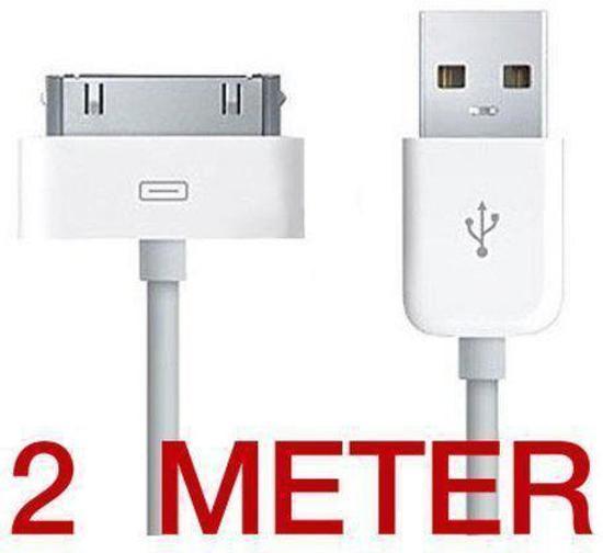 Apple iPhone 4 USB kabel 2 Meter c14a66bdba6