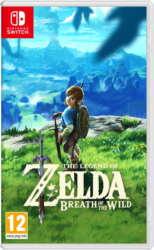 Cover van de game The Legend of Zelda: Breath of the Wild - Switch