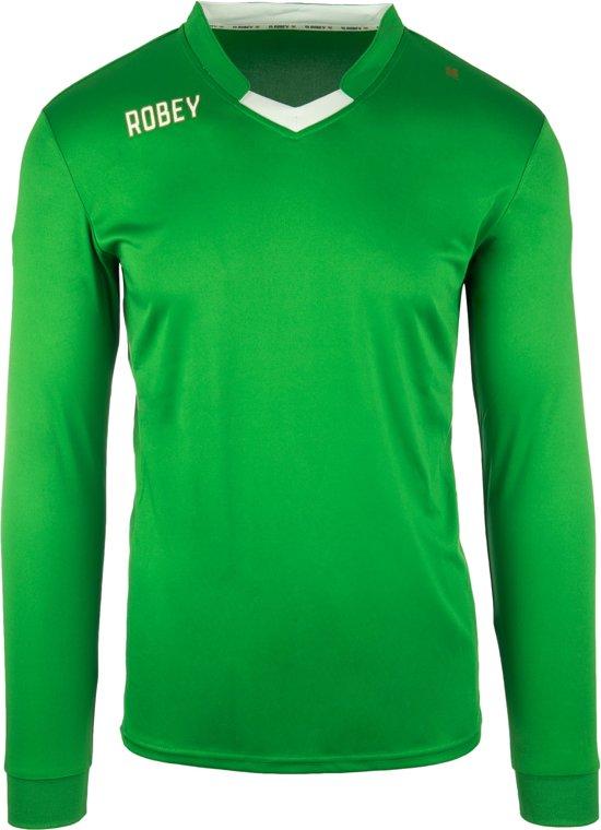 Robey Shirt Hattrick LS - Voetbalshirt - Green - Maat 140
