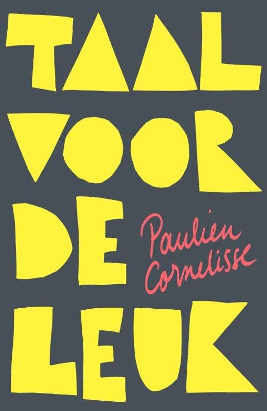 Boek cover Taal voor de leuk van Paulien Cornelisse (Onbekend)
