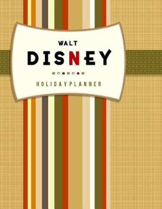 Walt Disney Holiday Planner