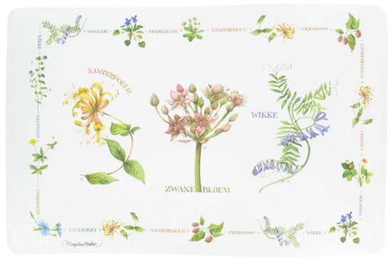 Marjolein Bastin Wildflowers Placemat - Wit