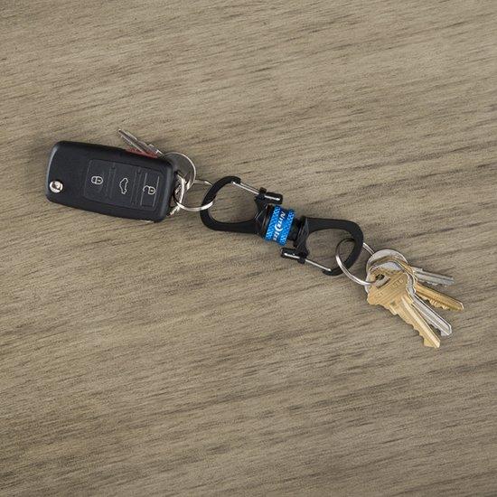 NITE IZE SlideLock 360° Magnetic Locking Carabiner - Blue