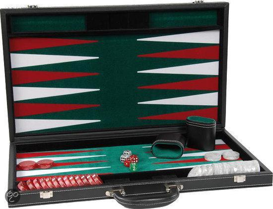 Backgammon Zwart 21