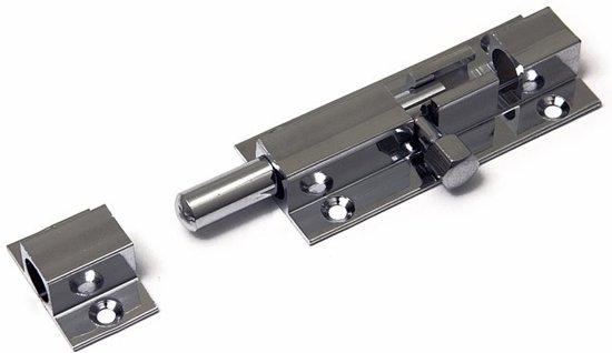 Dulimex Deurvergrendeling profielgrendel verchroomd 60x25 mm    DX-DRG 760B