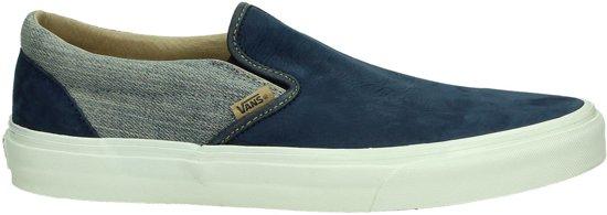 8a276c399a2 bol.com | Vans Classic slip-on - Sneakers - Heren - Maat 43 - Blauw