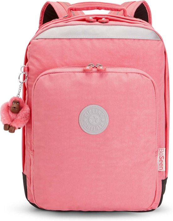 7a22fae2e8b bol.com | Kipling College Up Laptop Rugzak - Kinderen - Pink Flash