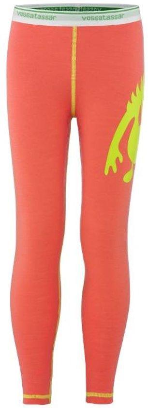 Solid legging merino wol - roze