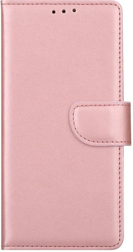 Huawei P9 - Bookcase Rose Goud - portemonee hoesje