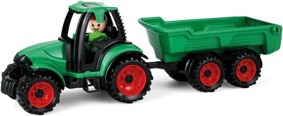 Lena - Truckies Tractor met Aanhanger - 01625