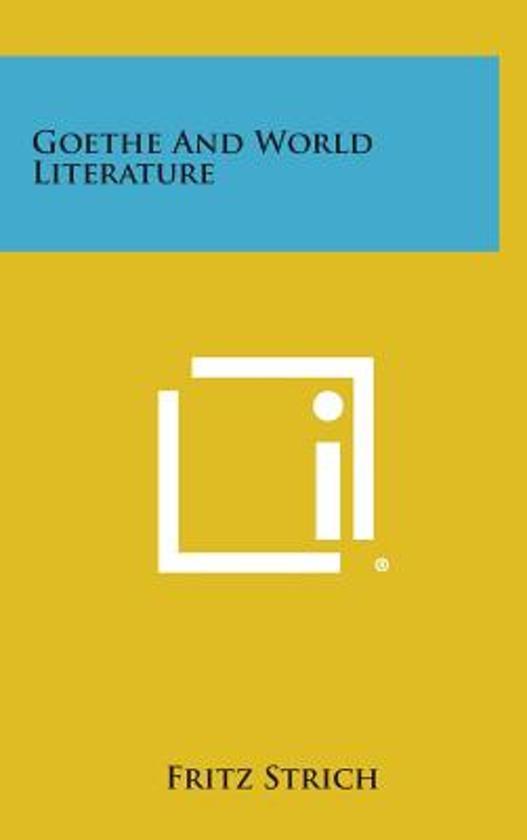 Goethe and World Literature