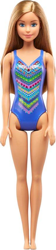 Barbie Strandpoppen - Blauw badpak