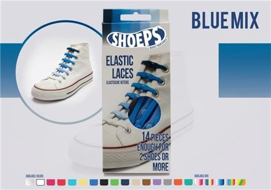 Shoeps Lacets Élastiques Mélange Multicolore JEeniIw