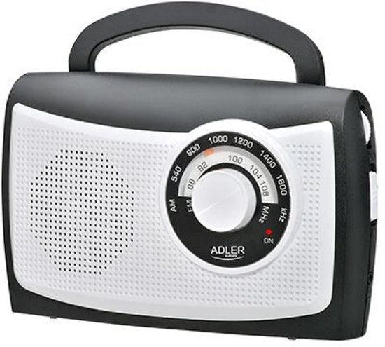 Adler AD 1155 - Draagbare radio