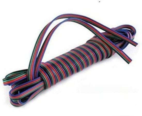 Genoeg bol.com | RGB verlengkabel 4 aderig per meter extension cable KQ87