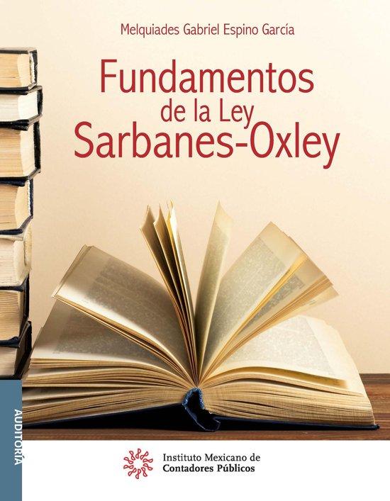Fundamentos de la Ley Sarbanes-Oxley
