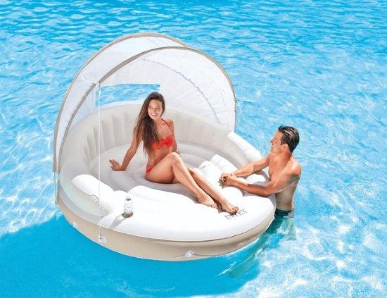Lounge Island Intex - 199x150 cm
