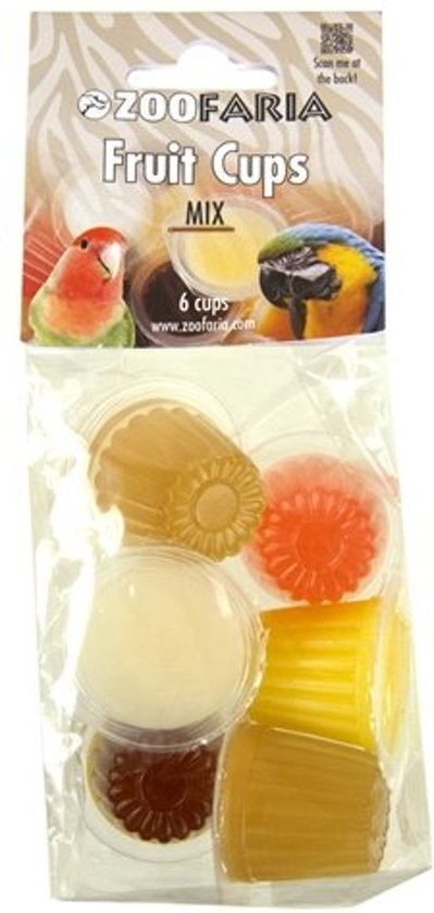 Zoofaria fruitkuipje - assorti mix