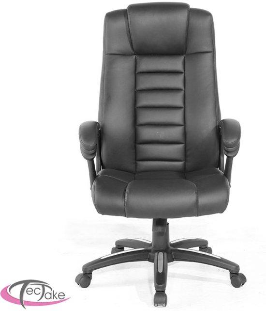 Onderplaat Voor Bureaustoel.Tectake Luxe Design Bureaustoel Zwart